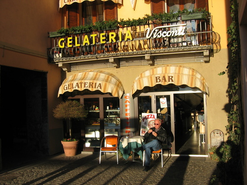 Porlezza gelateria Visconti